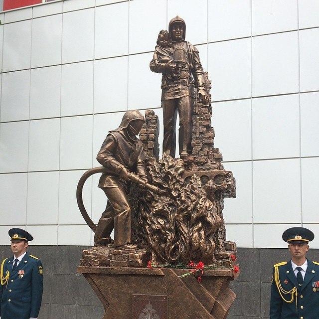 images novosti2 Culture pamyatnik pozharnym Памятник спасателям открыли в Астрахани