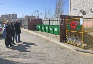 Александр Клыканов оценил работу регоператора по вывозу мусора