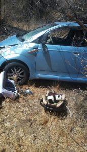6 Под Астраханью иномарка влетела в дерево, есть пострадавший