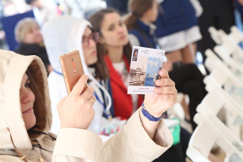 mn3b4996 Красная площадь: Астраханский государственный университет представил серию литературных открыток