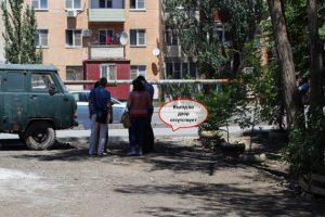 1а 1 Жители улицы Б. Хмельницкого просят организовать пожарный проезд