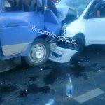 WRSU9BsbcbQ В Астрахани грузовая газель столкнулась с автомобилем: погиб человек