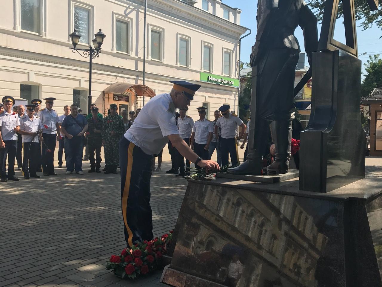 PnmL7wIM8fo Астраханские казаки почтили память воевавших в Первую Мировую войну