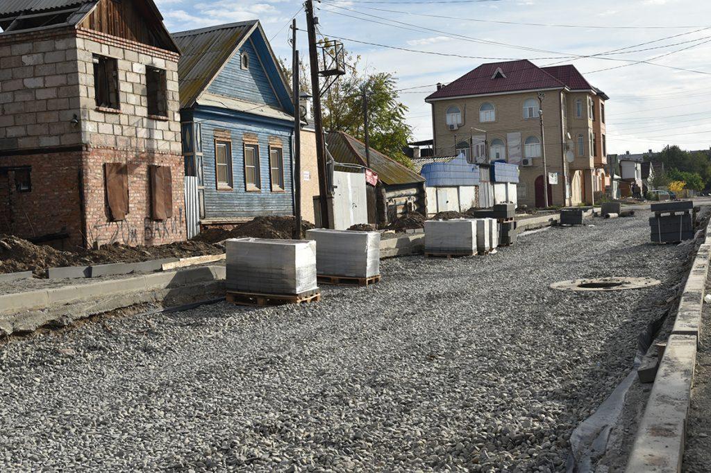 dsc 2678 Ремонт улицы Каховского в Астрахани выполнен на 70%