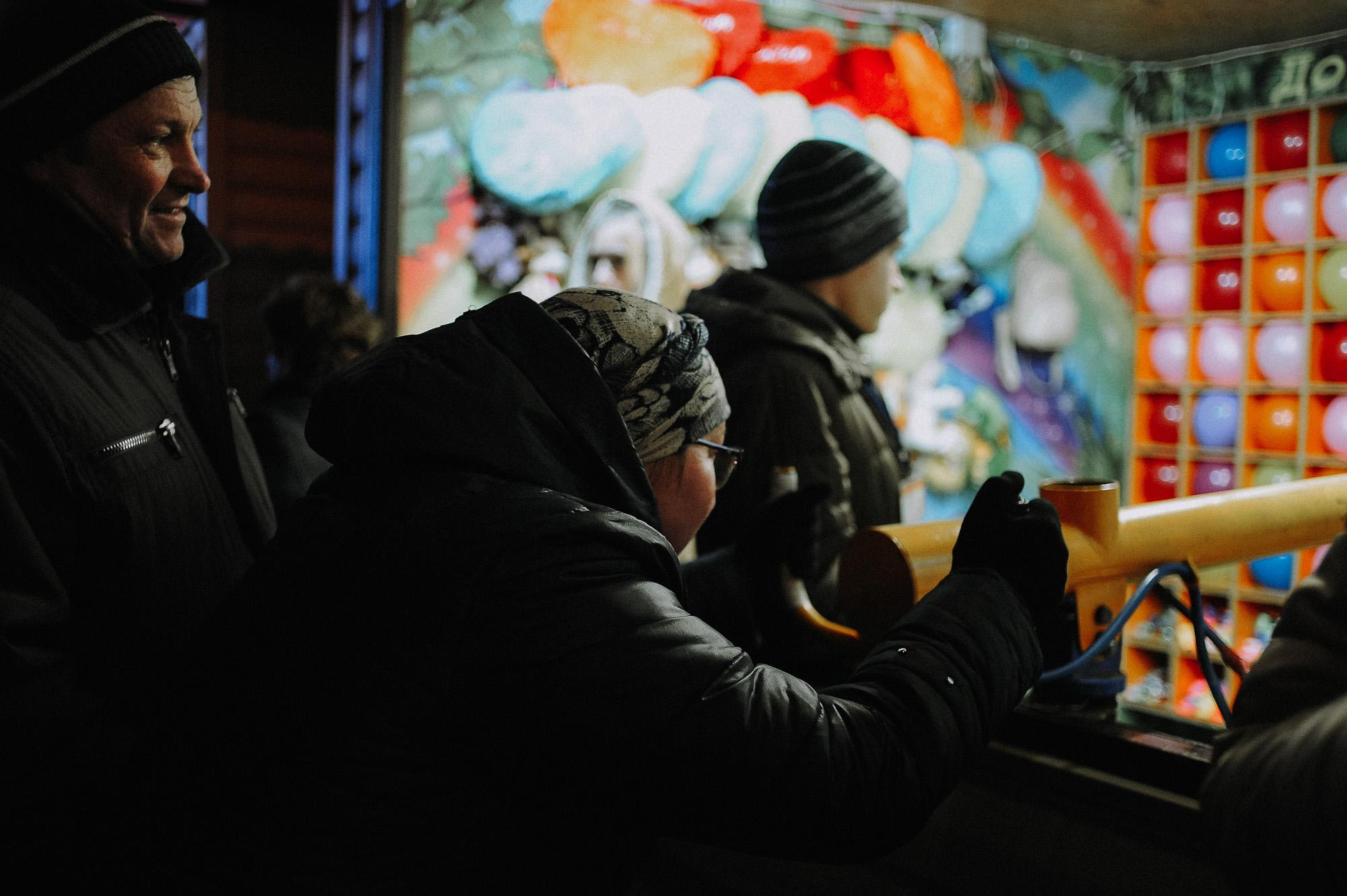 ZZZ 6891 В Астрахани на площади Ленина зажгли новогоднюю елку: кадры торжества