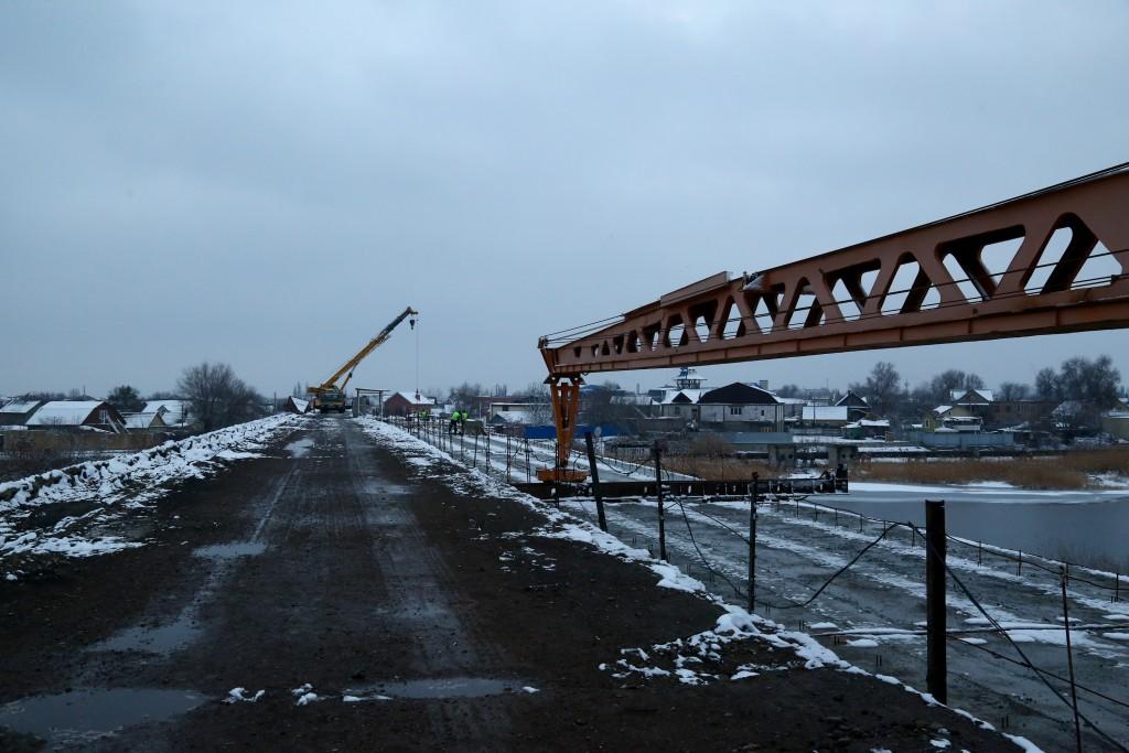мост 2 Что происходит на двух мостах через реку Царев в Астрахани