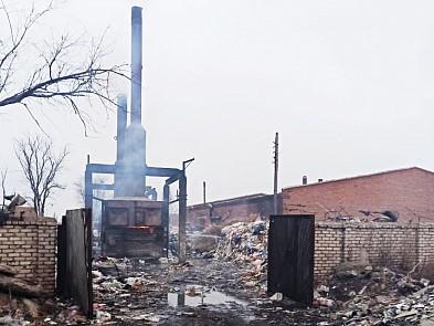 Компанию, сжигающую мусор, оштрафовали за смог и запах гари в Астрахани