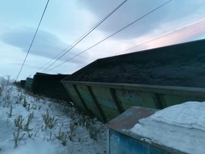 поезд 1 Поезд из Астрахани не доехал до Нижневартовска из-за крупной аварии на путях