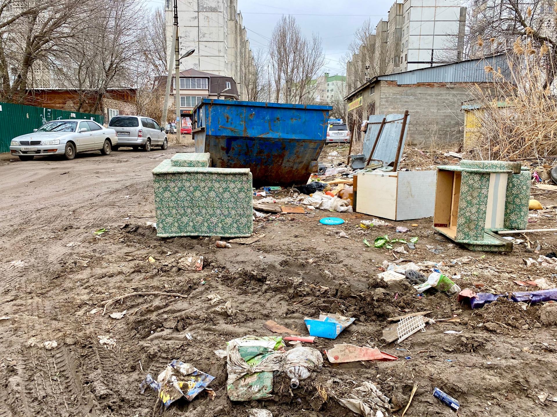 image 26 03 21 04 40 3 В Астрахани ликвидировали несанкционированную свалку