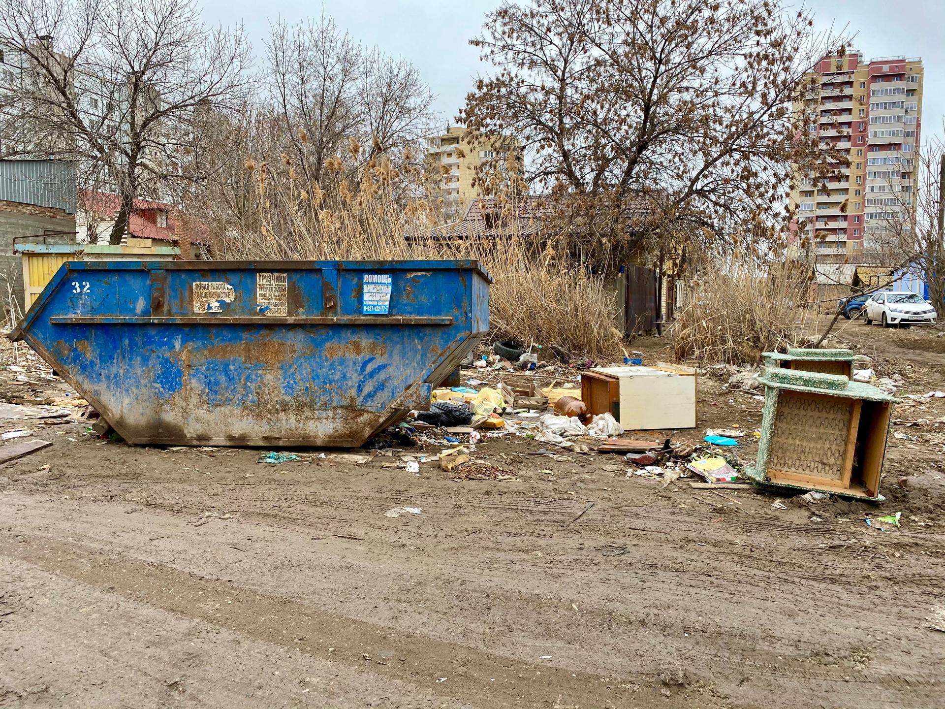 image 26 03 21 04 40 4 В Астрахани ликвидировали несанкционированную свалку