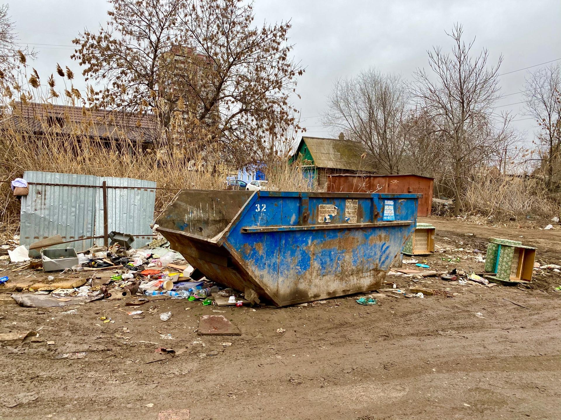 image 26 03 21 04 40 5 В Астрахани ликвидировали несанкционированную свалку