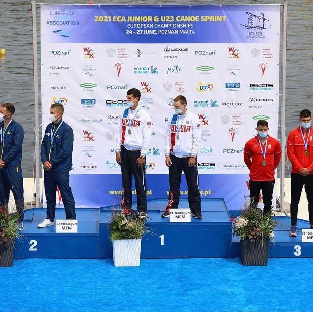 2 В копилке астраханских гребцов три медали первенства Европы
