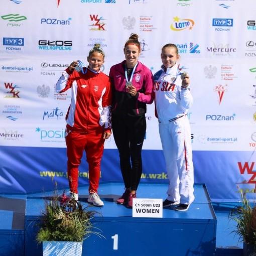 5 В копилке астраханских гребцов три медали первенства Европы