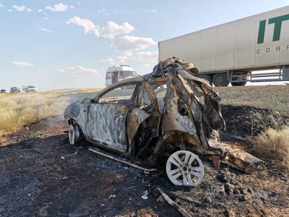 ДТП под Астраханью с пятью погибшими