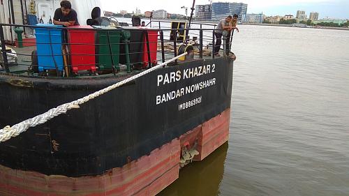 """Иранское судно """"Pars Khazar 2"""""""