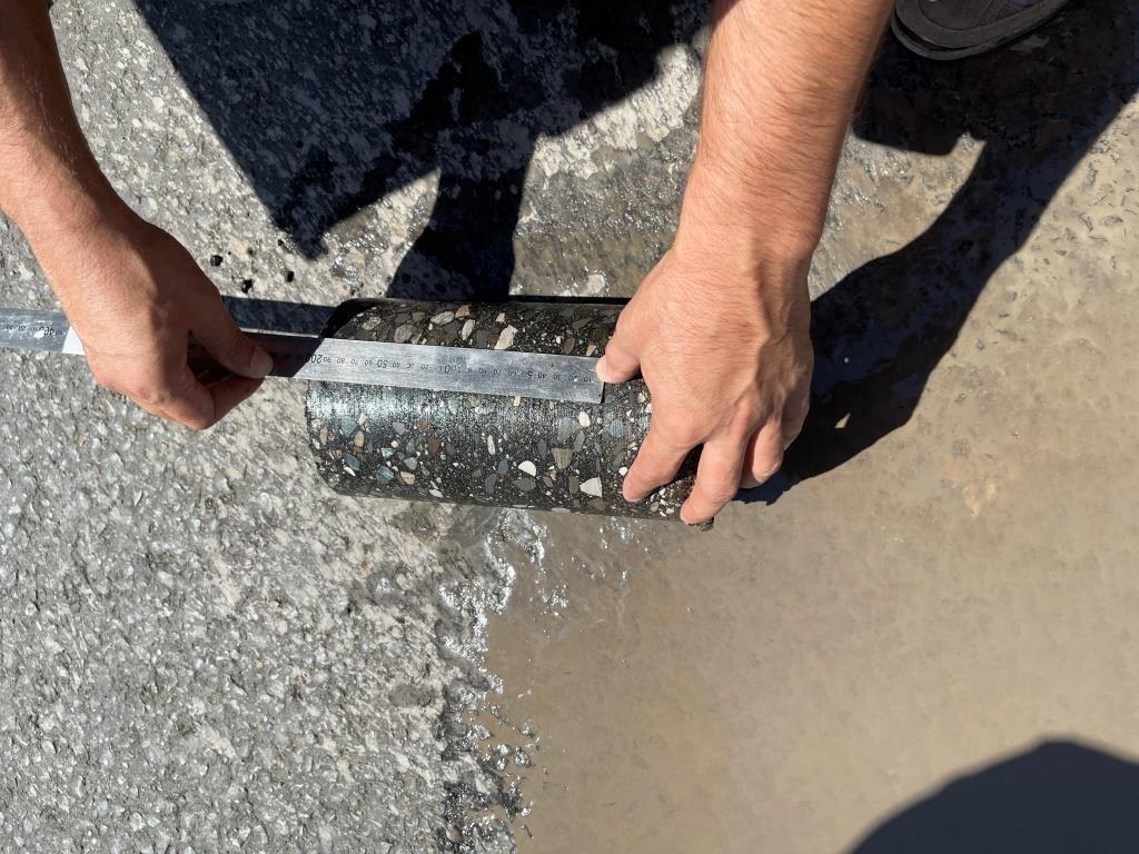 1 При ремонте дороги под Астраханью выявили нарушения