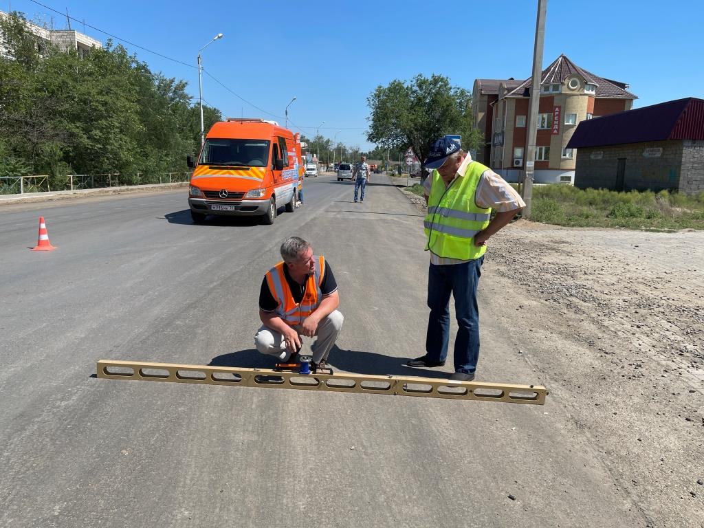 2 При ремонте дороги под Астраханью выявили нарушения