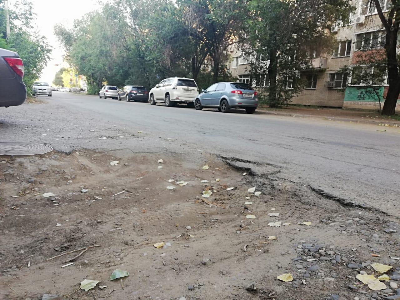 на ул. Ахшарумова в Астархани 4 В Астрахани улица Ахшарумова может стать недоступной для автомобилистов