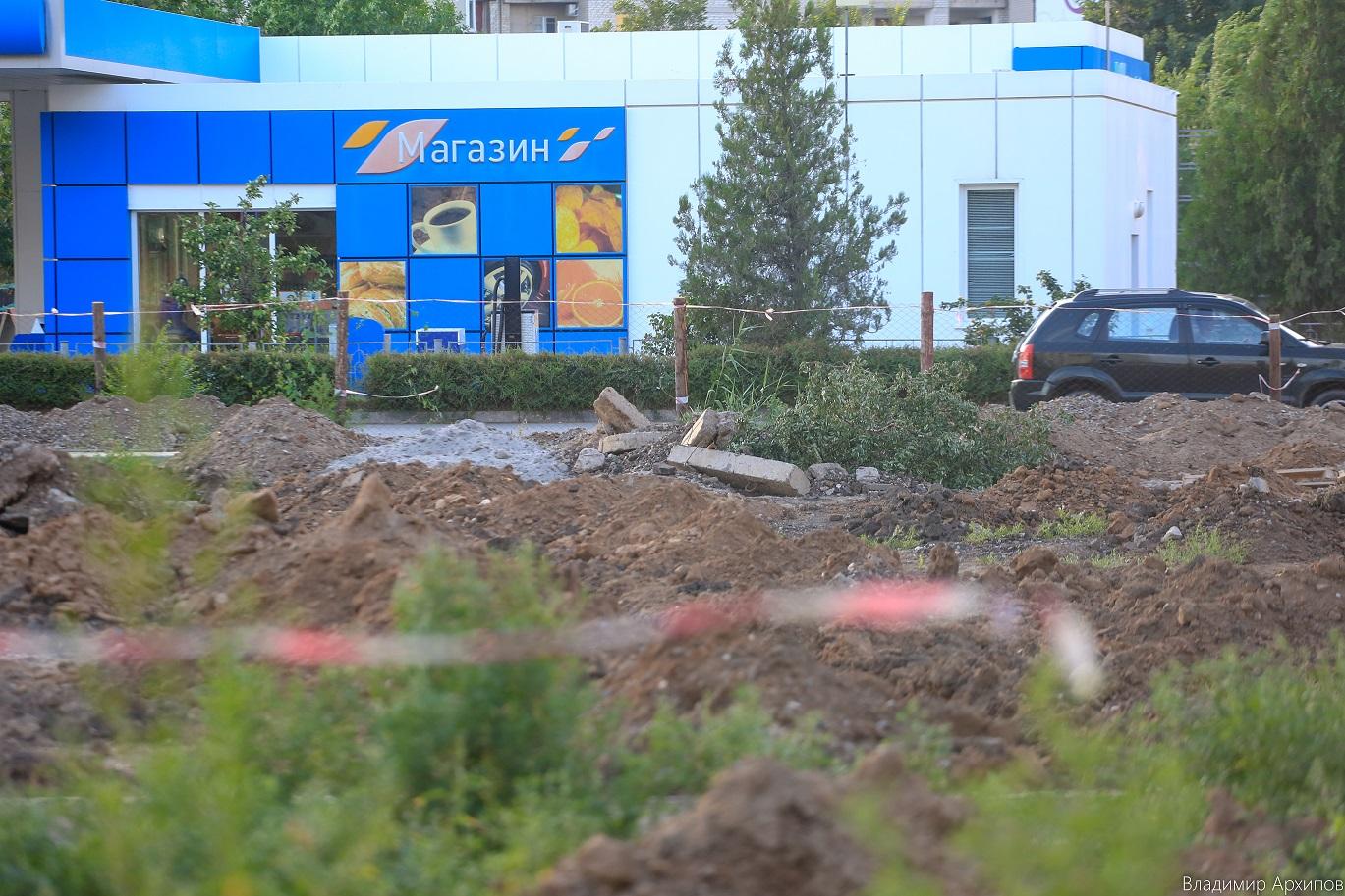 сквера на ул. Минусинской в Астрахани 16 Что происходит в Астрахани на месте пустыря на Минусинской