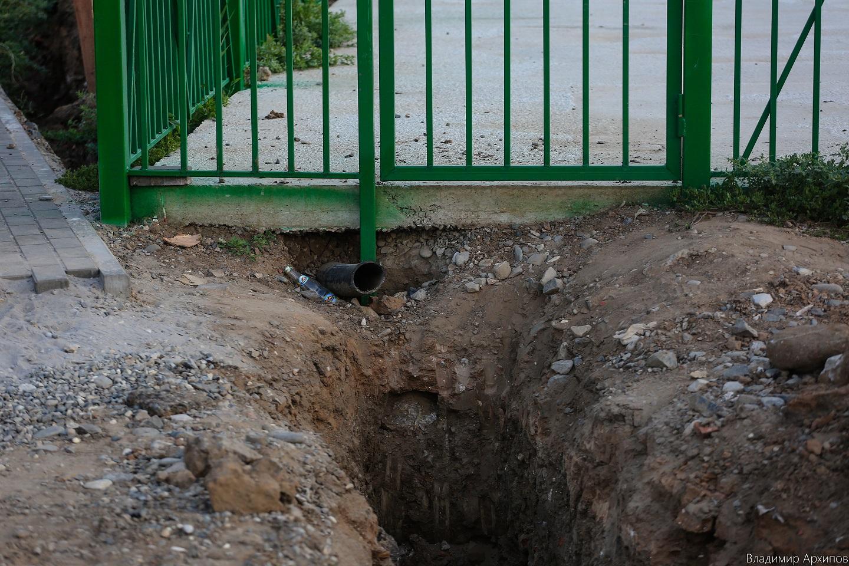 строительство сквера на ул. Минусинской в Астрахани (4)
