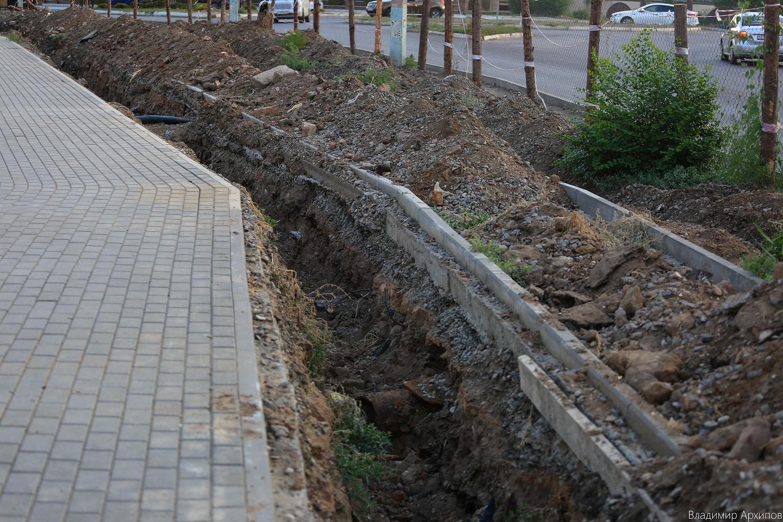 сквера на ул. Минусинской в Астрахани 8 Что происходит в Астрахани на месте пустыря на Минусинской