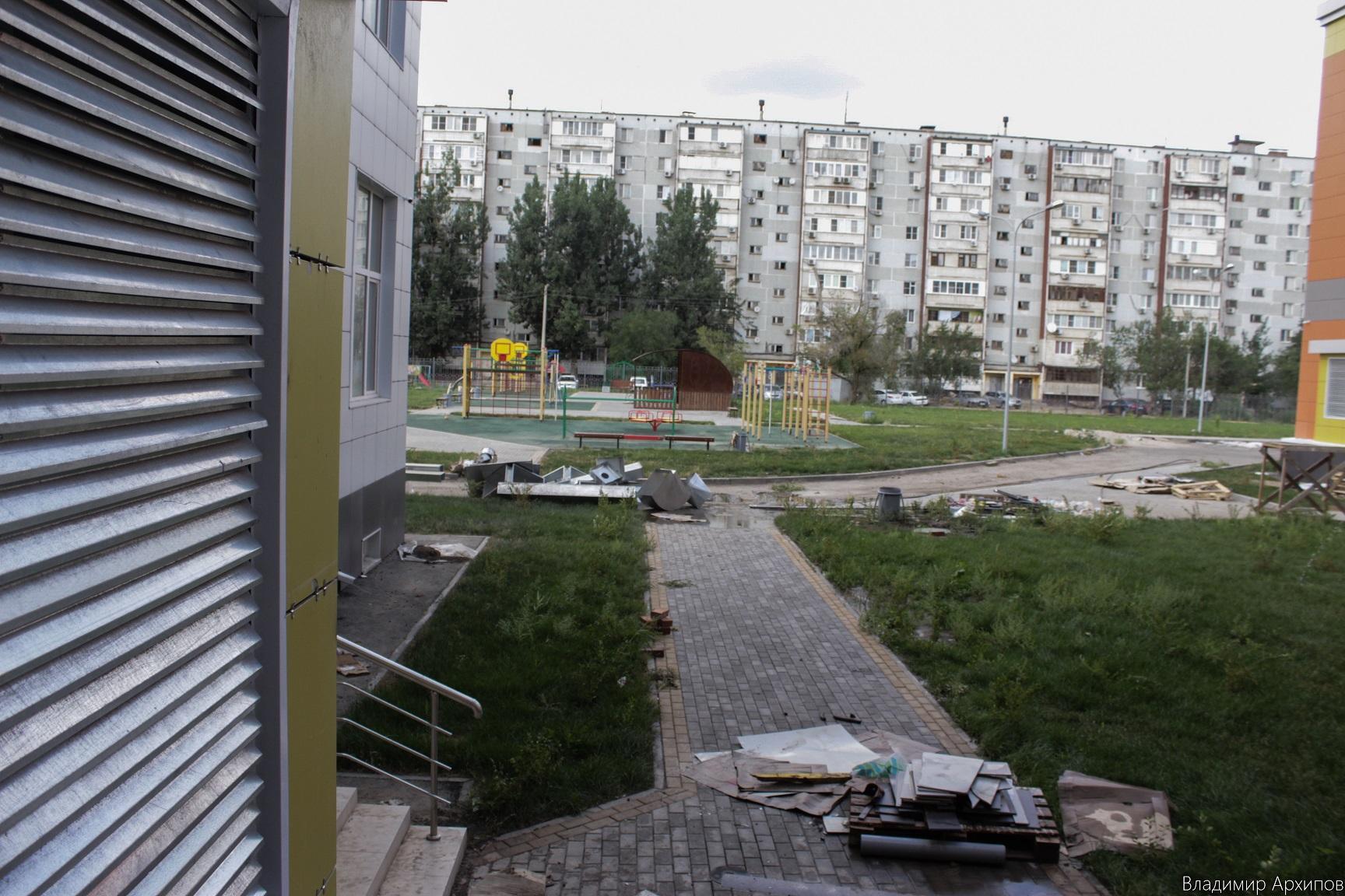 школа на ул. 2-я Зеленгинская в Астрахани