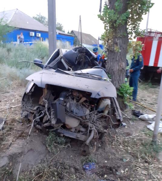Под Астраханью погиб водитель