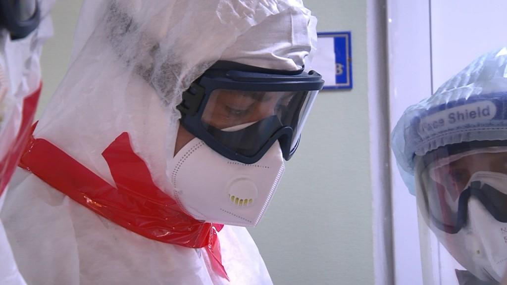 зона 4 Заместитель главы минздрава РФ осмотрел ковидный госпиталь в Астрахани