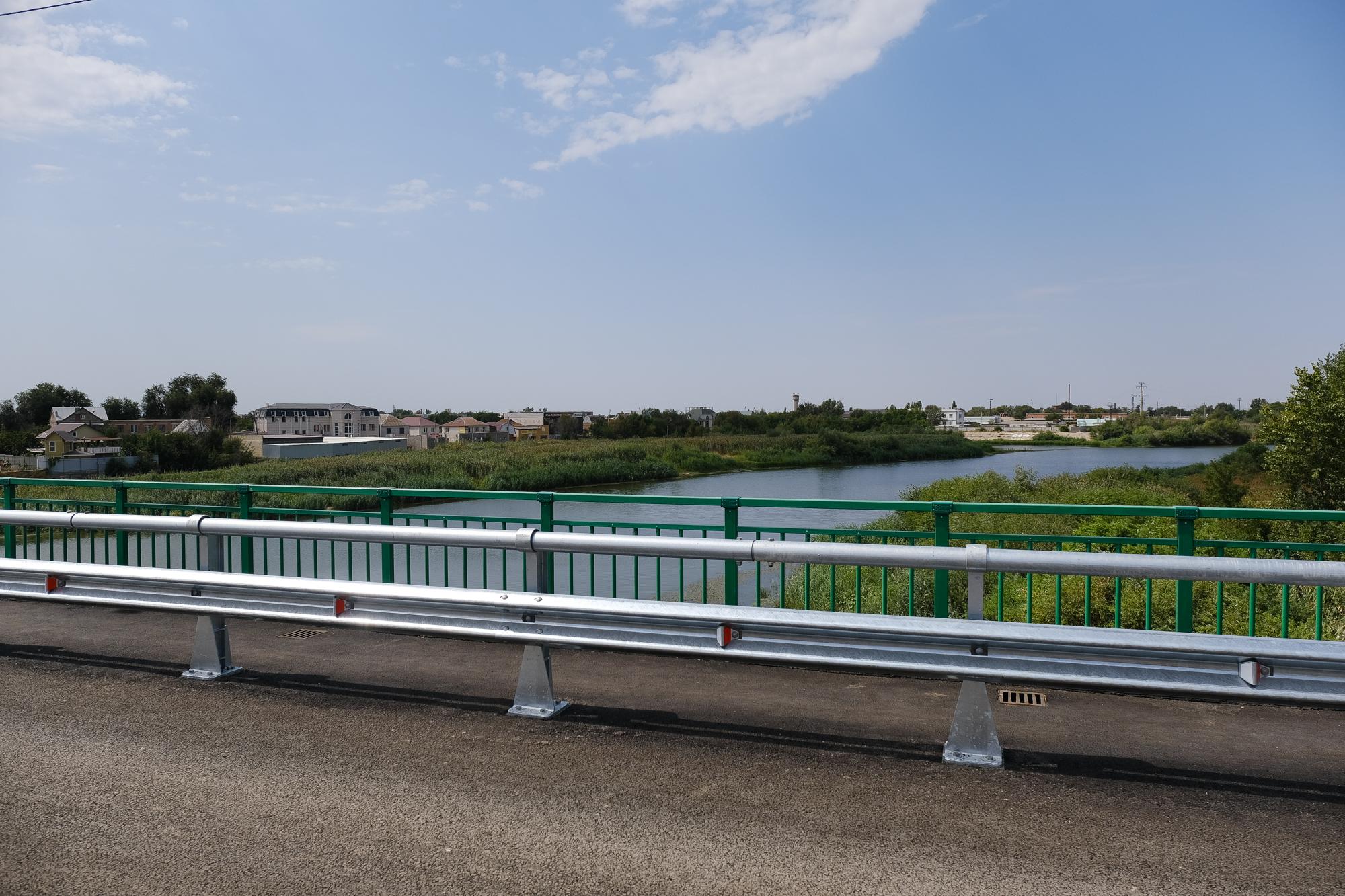 Милицейский мост в Астрахани