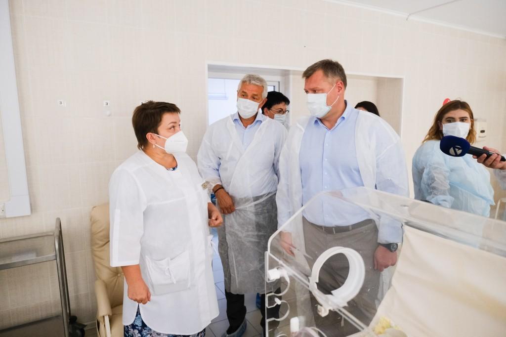 1 Открытие ПЦР-лаборатории в роддоме Астрахани стопорится из-за отсутствия денег на ремонт