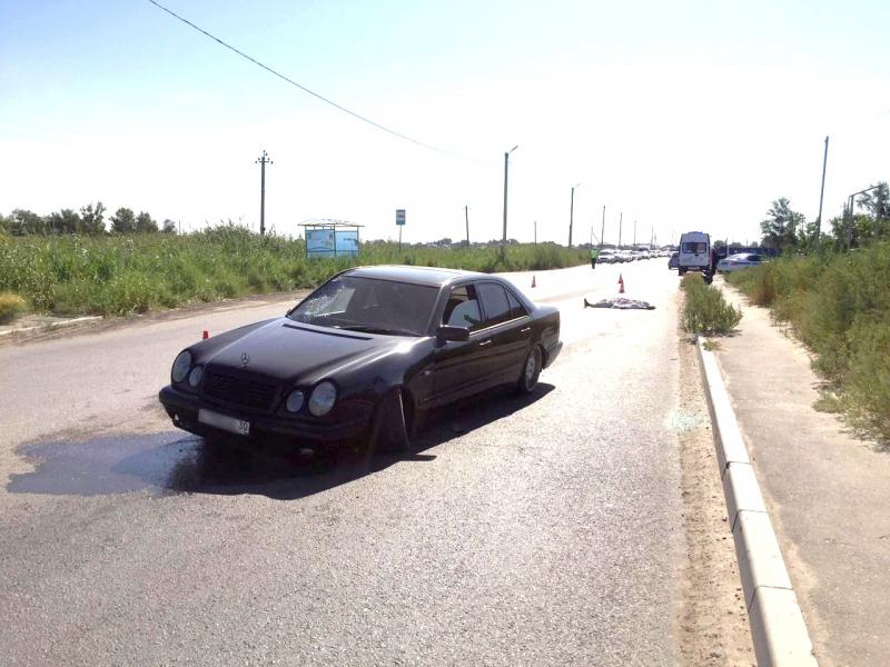 В ДТП на Началовском шоссе в Астрахани погибла пенсионерка