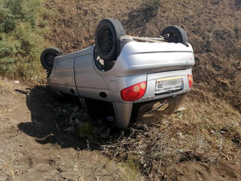Под Астраханью погиб водитель. ДТП между селами Иванчуг и Увары