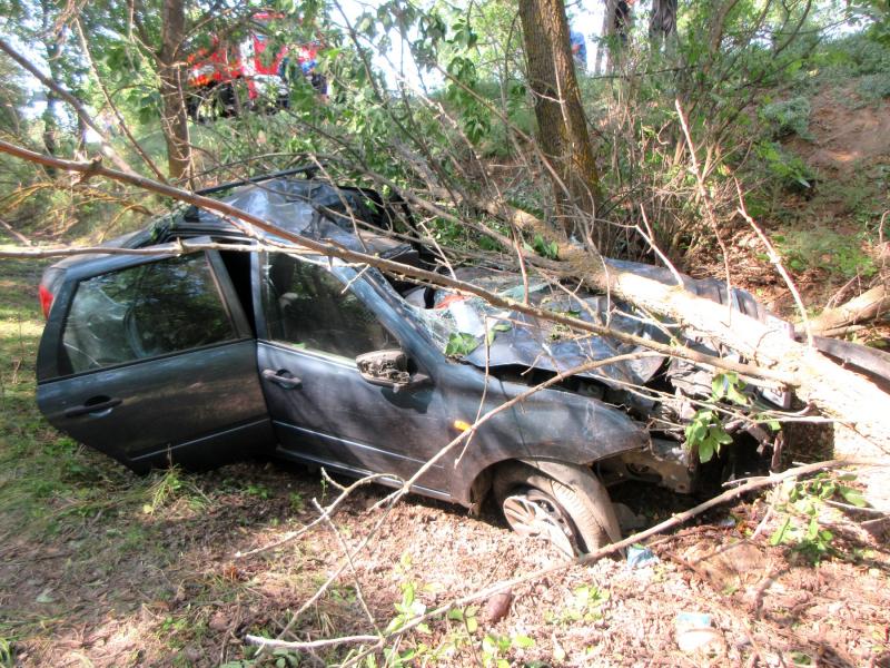 Под Астраханью погибла автоледи