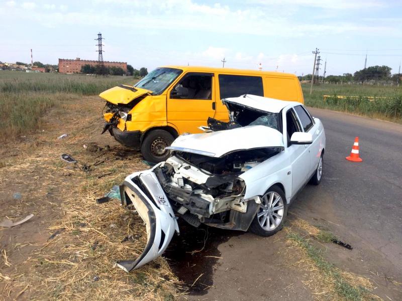 В Астрахани погиб водитель. Фото: УМВД по АО
