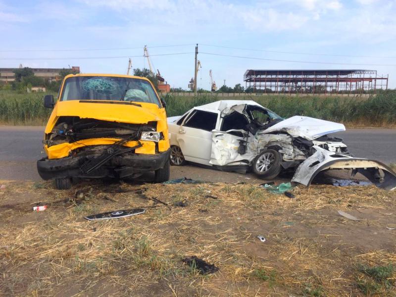 В Астрахани погиб водитель