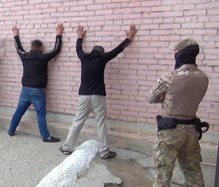 задержание подозреваемых в серии краж в Астрахани