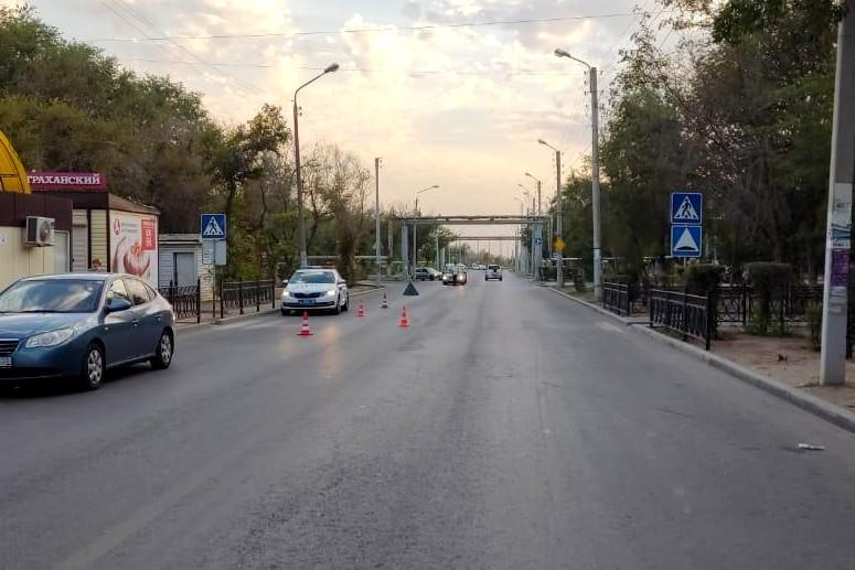 Наезд на подростка. Водитель задержан в Астрахани