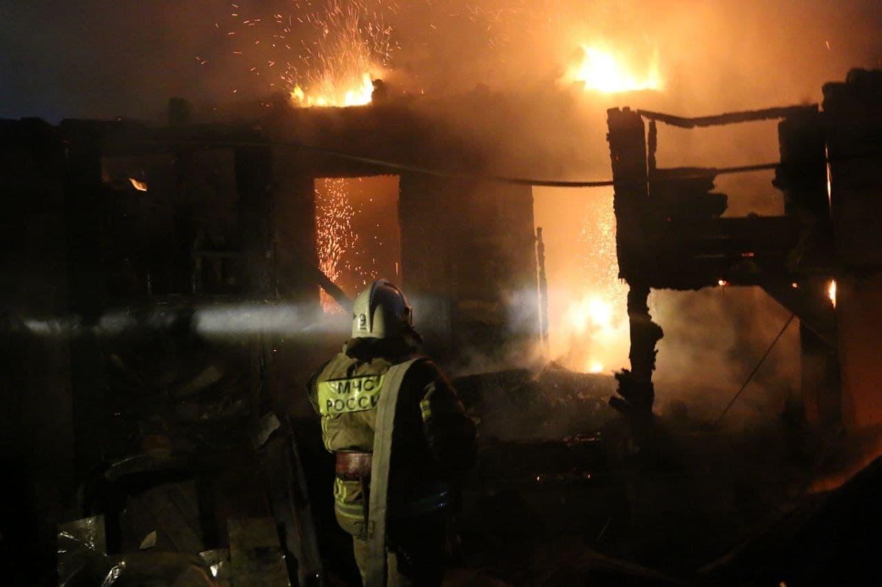пожар в Астрахани 1
