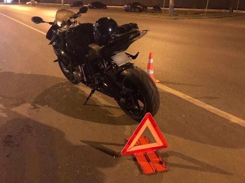 ДТП с мотоциклистом в Астрахани
