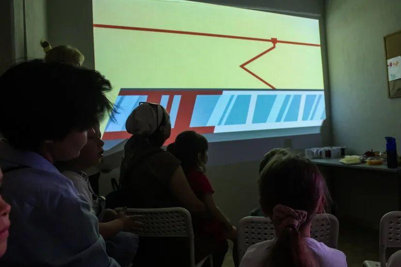 WhatsApp Image 2021 09 02 at 11.47.51 На мастер-классе по рисованию юным астраханцам рассказали о правилах безопасного поведения вблизи железной дороги