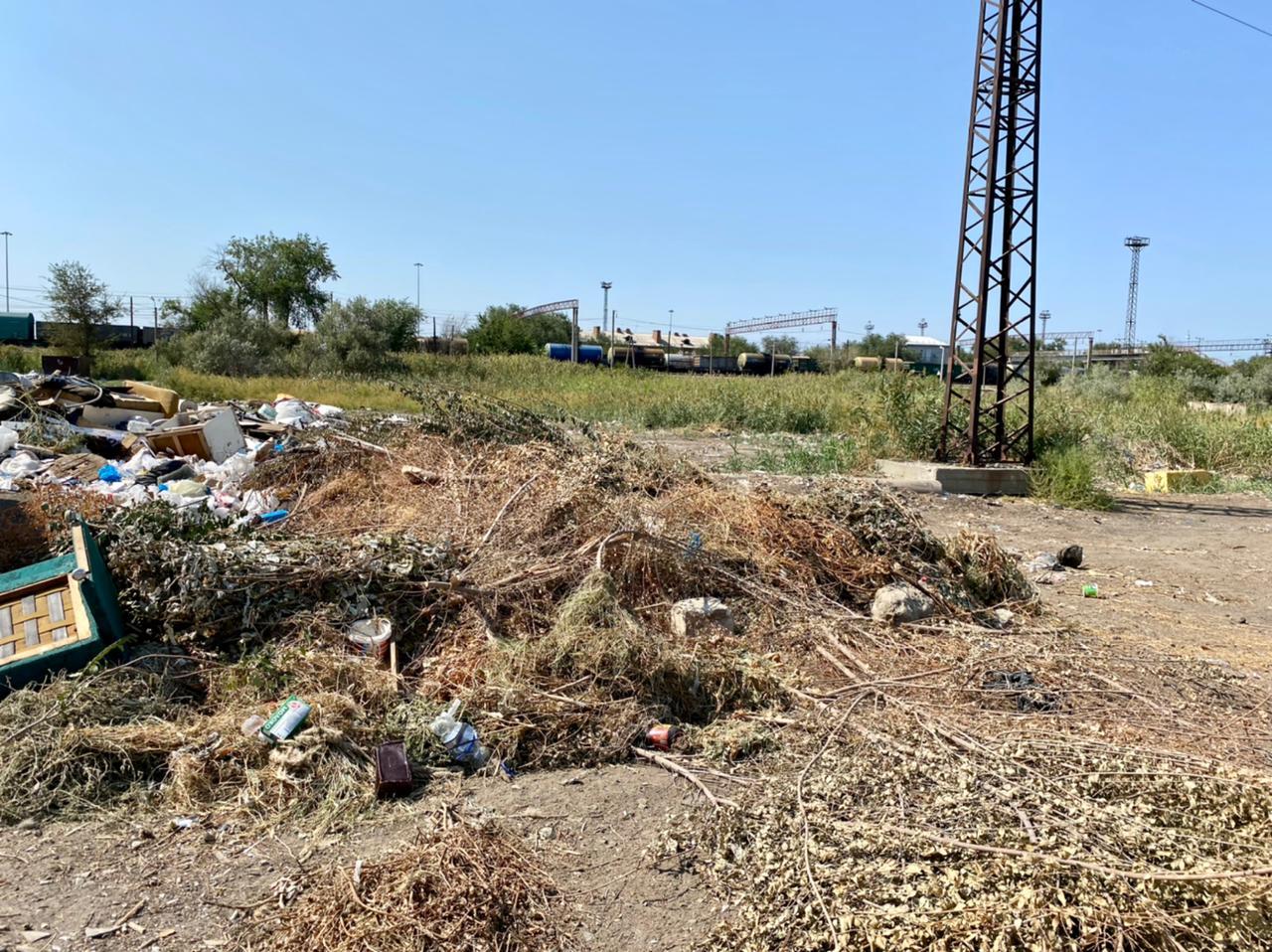 image 01 09 21 03 00 1 Стихийная свалка в Астрахани, ликвидированная в августе, вновь выросла
