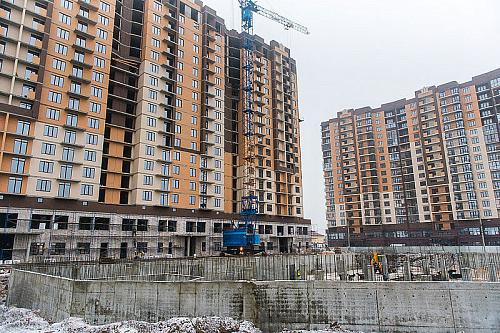 загрязнение Волги при строительстве жилого комплекса
