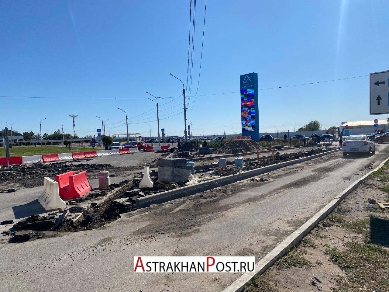 схема движения в Астрахани