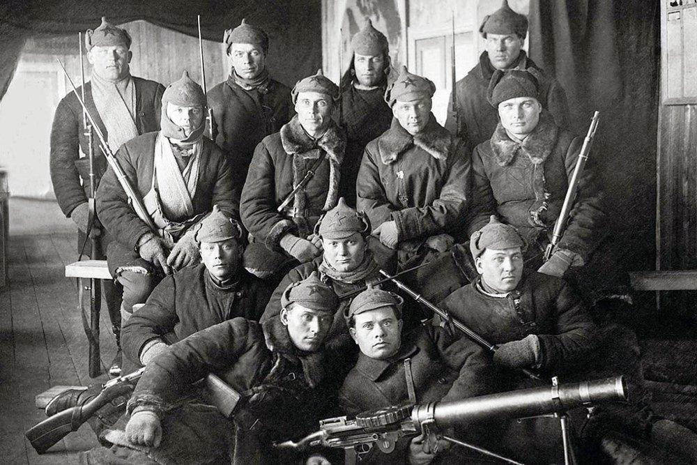 04. Boevoi otriad odnoi iz gubernskii ChK primerno 1921 god